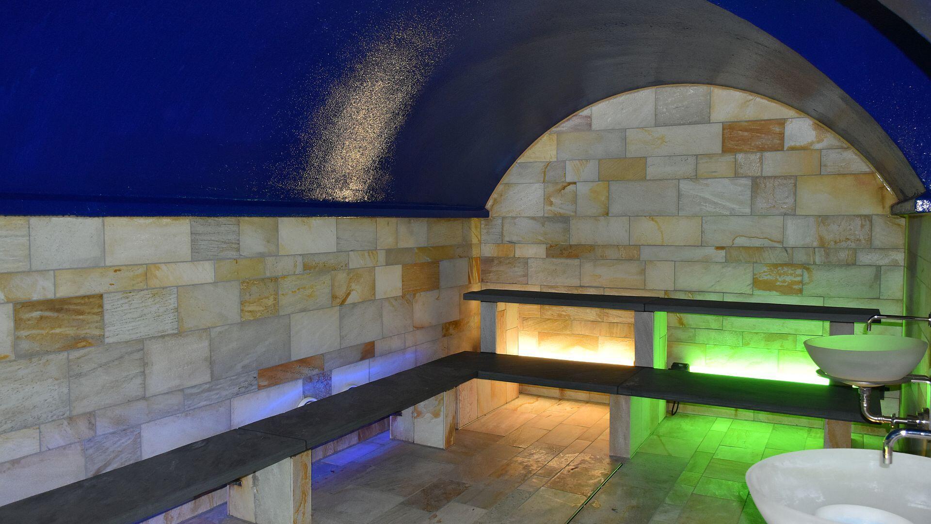 Dampf-Sauna